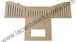 Vermiculite sans plaque haute Aduro - ref 51 vermiculite-ss-plaque-aduro-51130